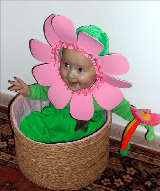 Как сшить костюм цветочек