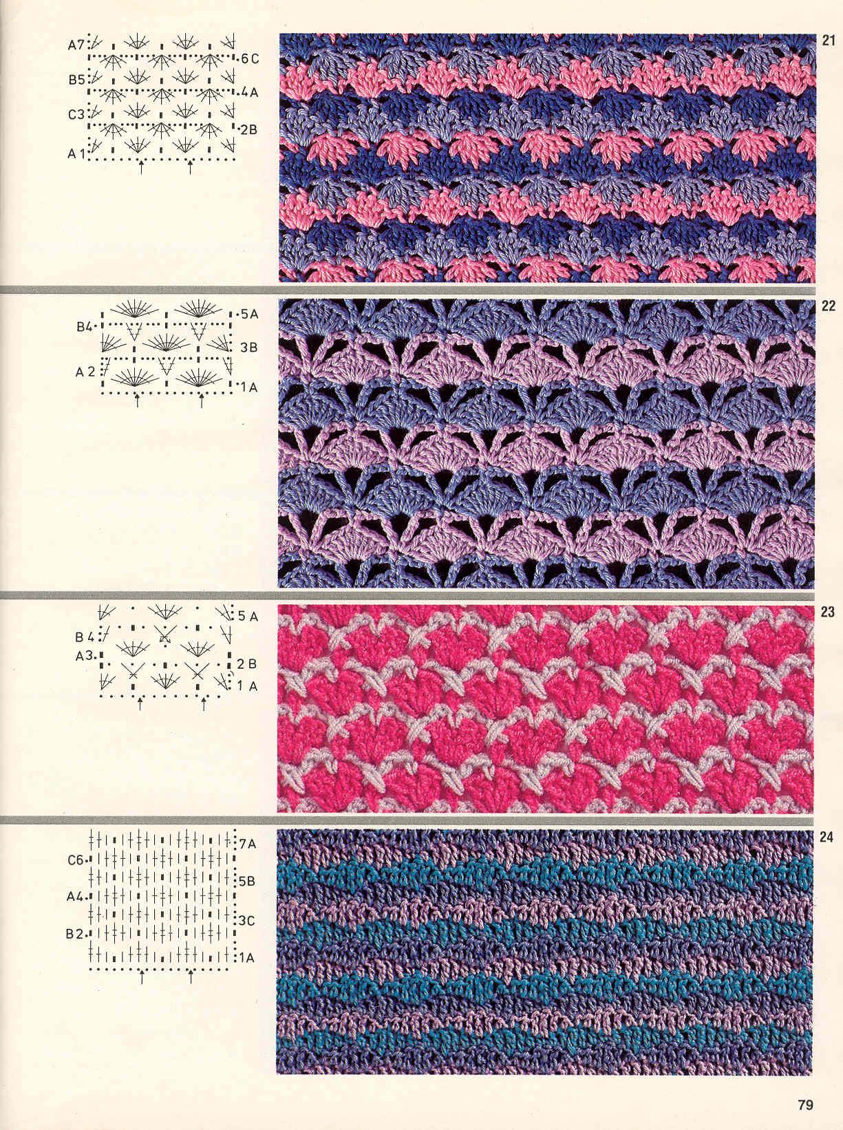Вязание спицами - жаккард и 27