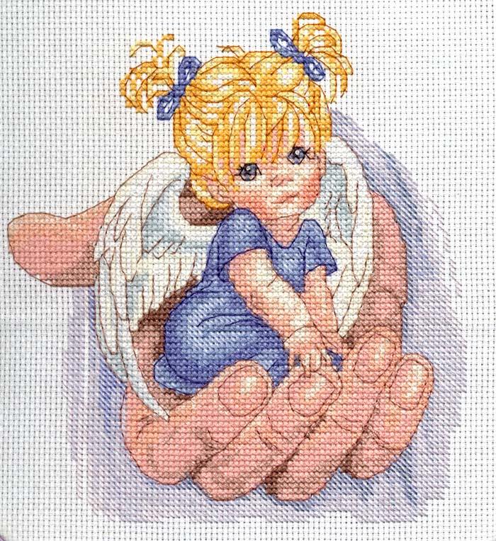 Схема вышивки на руке у бога 111