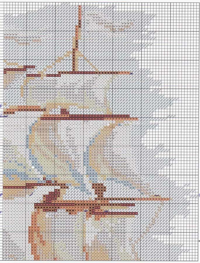 Вышивка бисером корабль схемы 38