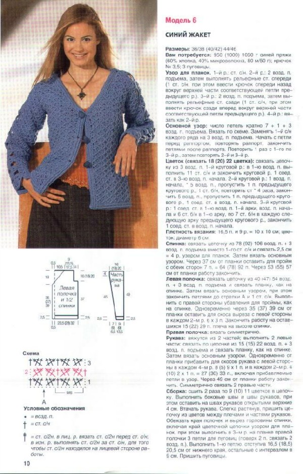 Вязание спицами для женщин модные модели 2018 года с описанием жакеты 56