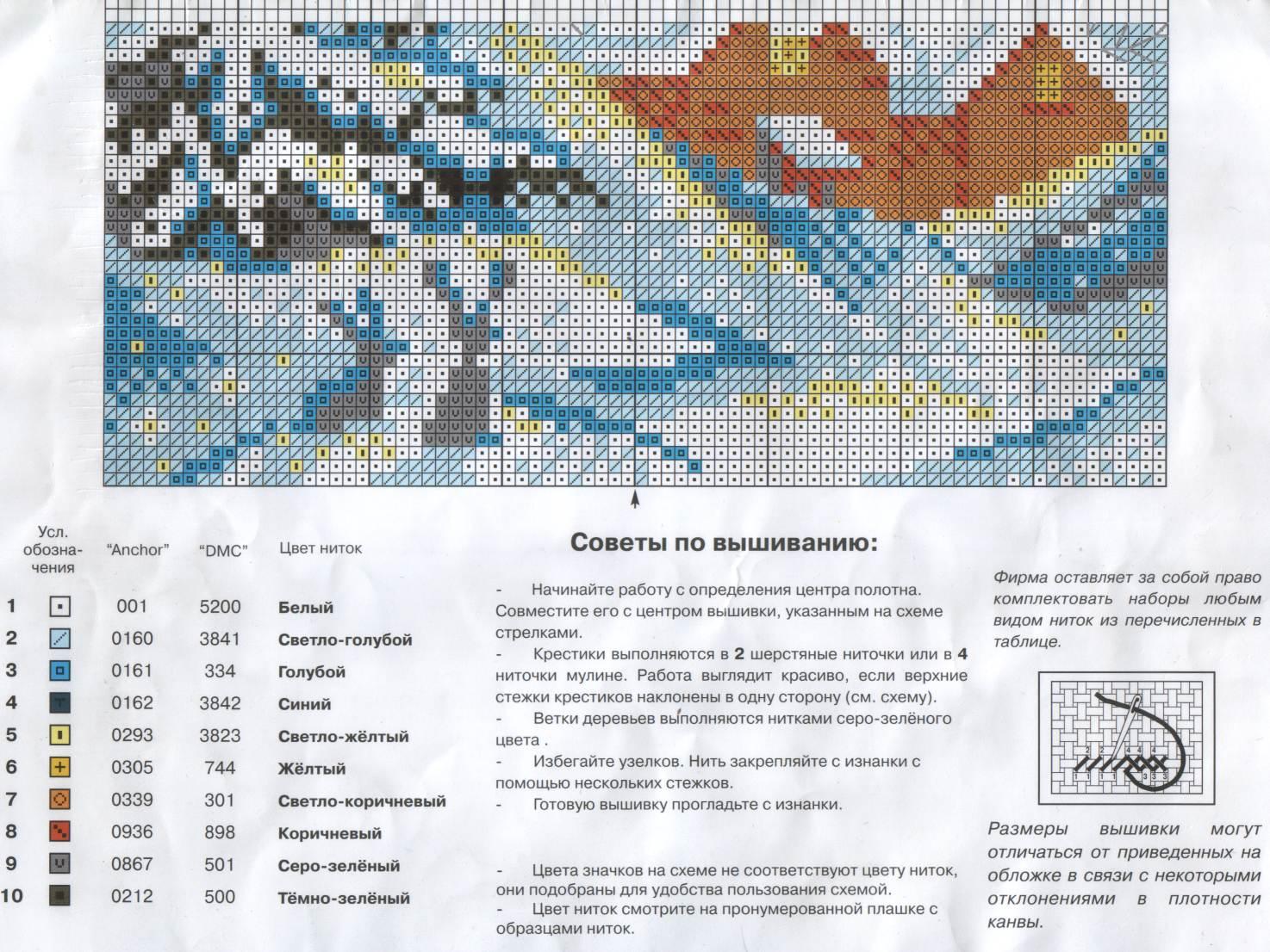 ИГОЛКИ. НЕТ: схемы для вышивки из картинок 54