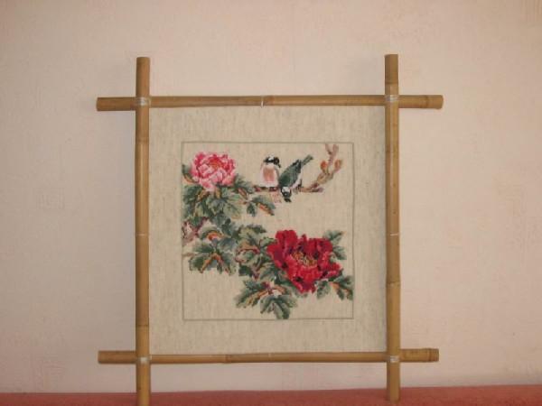 Картина из китая как сделать рамку