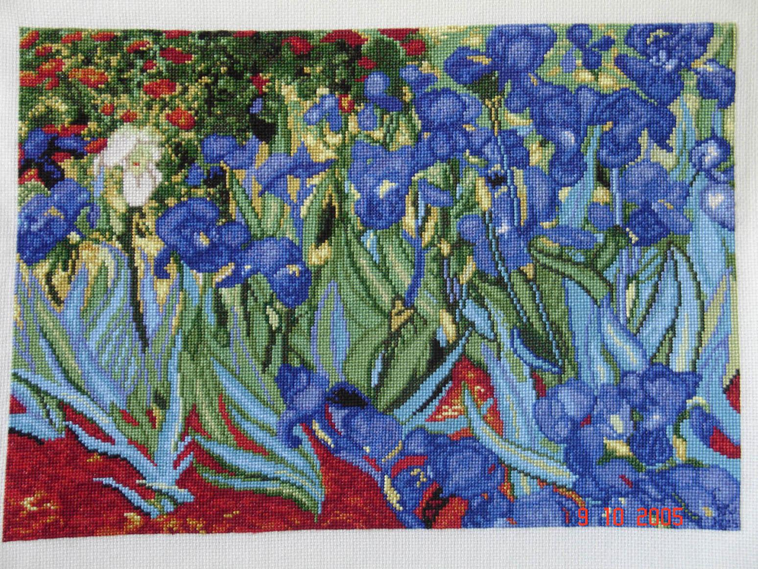1088 Ван Гог «Звёздная ночь - Мир Вышивки 86