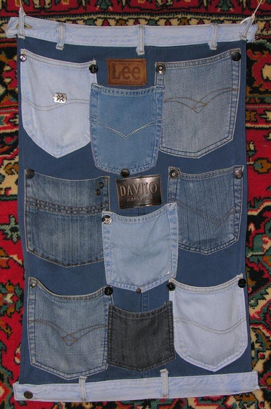 Все из джинсовой ткани своими руками