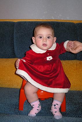 Вот она какая - ВНУЧКА ДЕДА МОРОЗА!. Маленькая принцесса