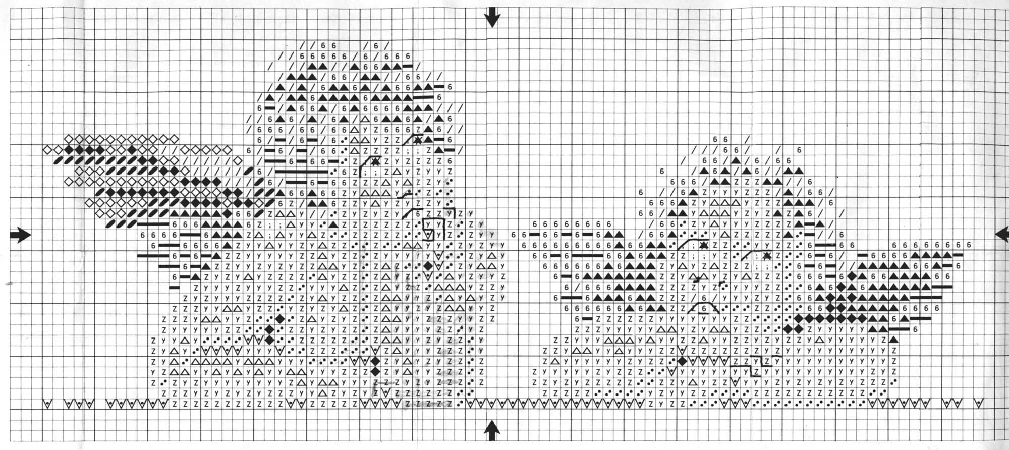 схемы вышивок крестом ланарте