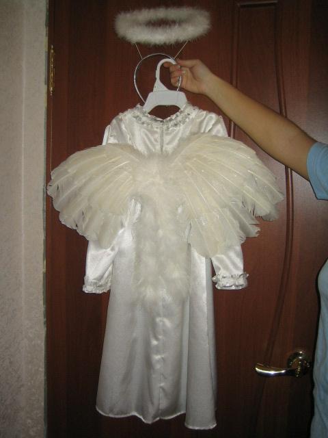 Как сделать костюм ангела своими руками