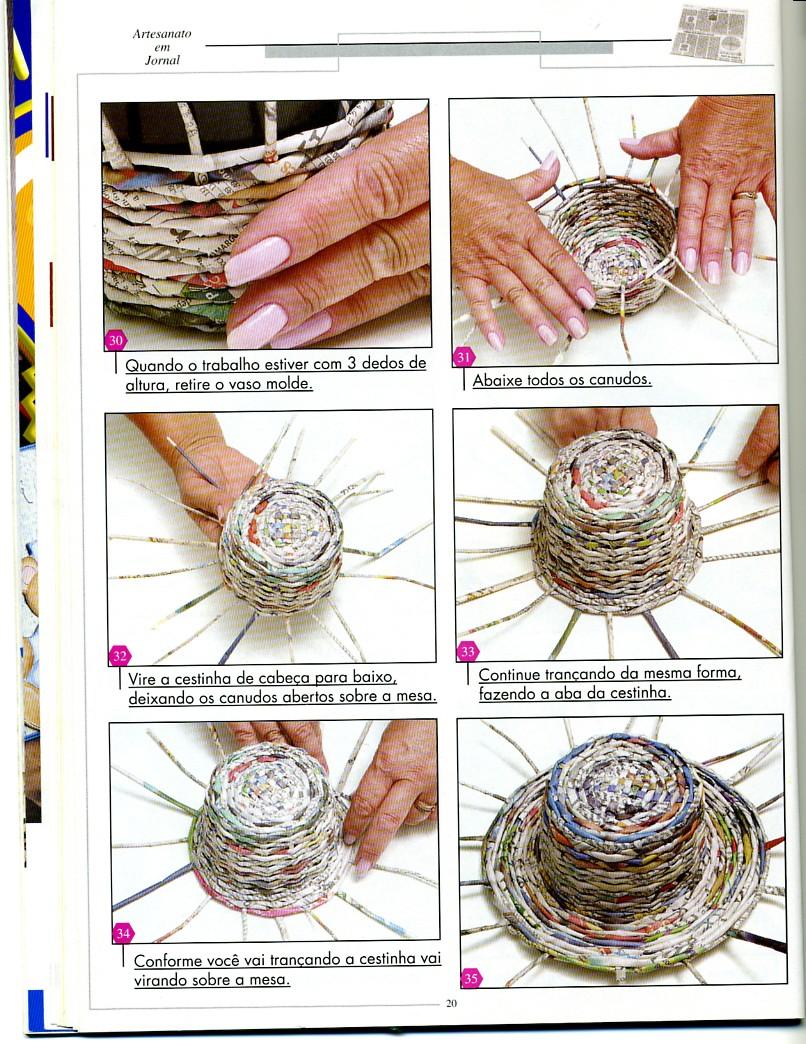 плетенки из газет картинки