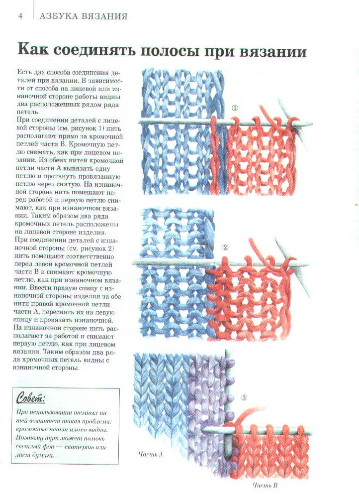 Как снимать вязание с петель 601