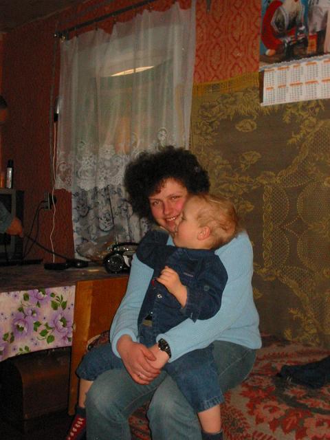 Мы с Севкой. 5 марта 2005