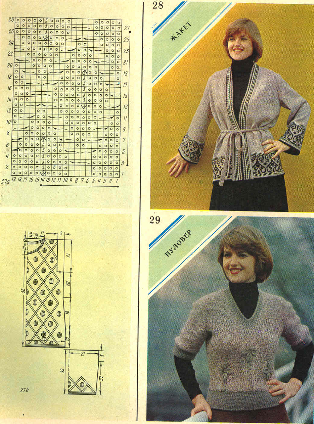 Журнал вязание за 1980 год