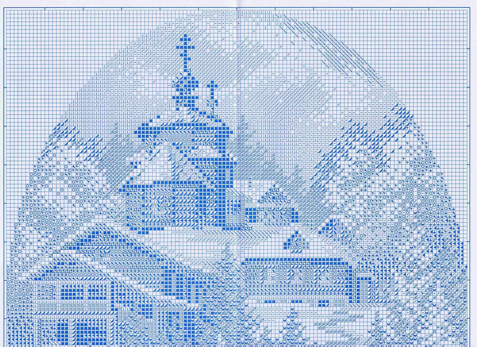 Вышивка первый снег схема 97