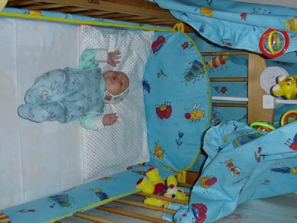 отселение малыша в свою кровать мне