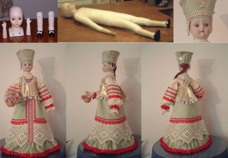 Как сделать куклу своими руками в русском стиле