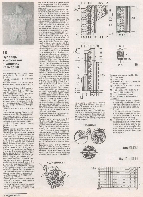 Вязание спицами комбинезоны от 0 до 3 лет