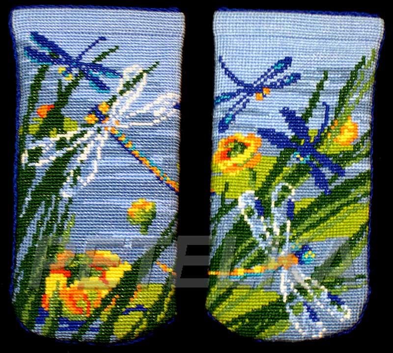 Вышивка риолис очечник - 05. наборы для вышивания подушек и.