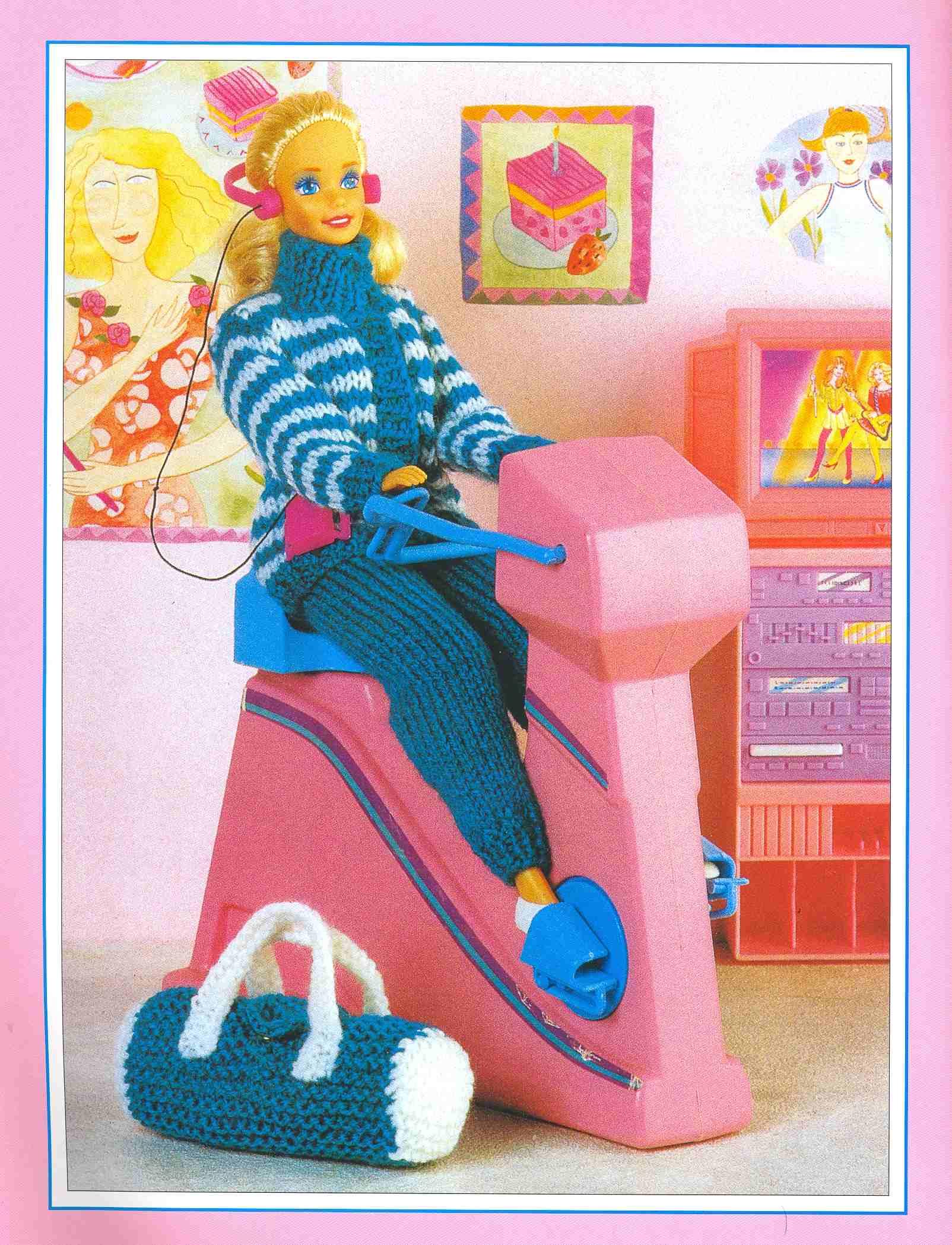 Вещи для кукол связанные крючком