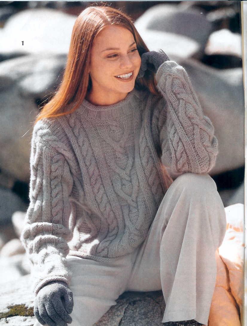 Вязание из мохера спицами для женщин оригинальные модели сабрина 52