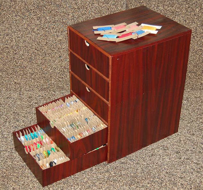 Коробка для ниток фото