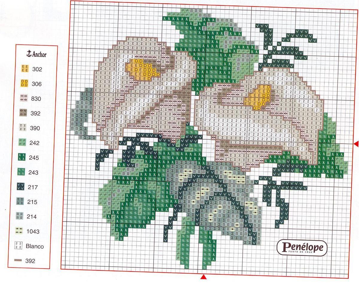 Каталог схем для вышивки крестом - бесплатно вышивка 8