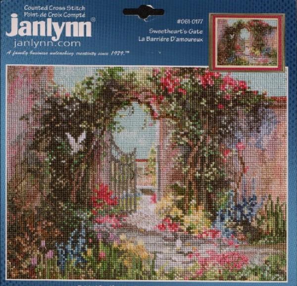 Вышивки крестом фирмы janlynn 33