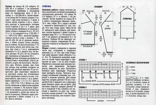 Описание вязание на спицах реглана 73