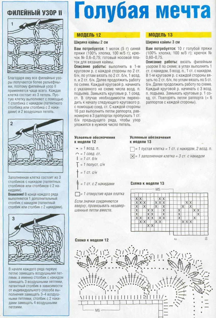Вязание крючком шали столбиками с накидом