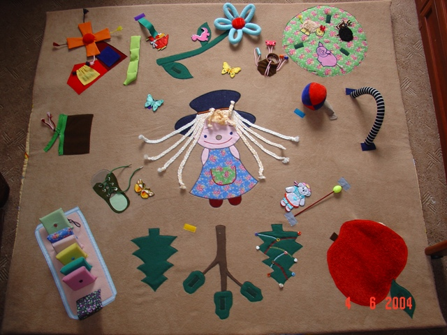 Идеи для развивающего коврика