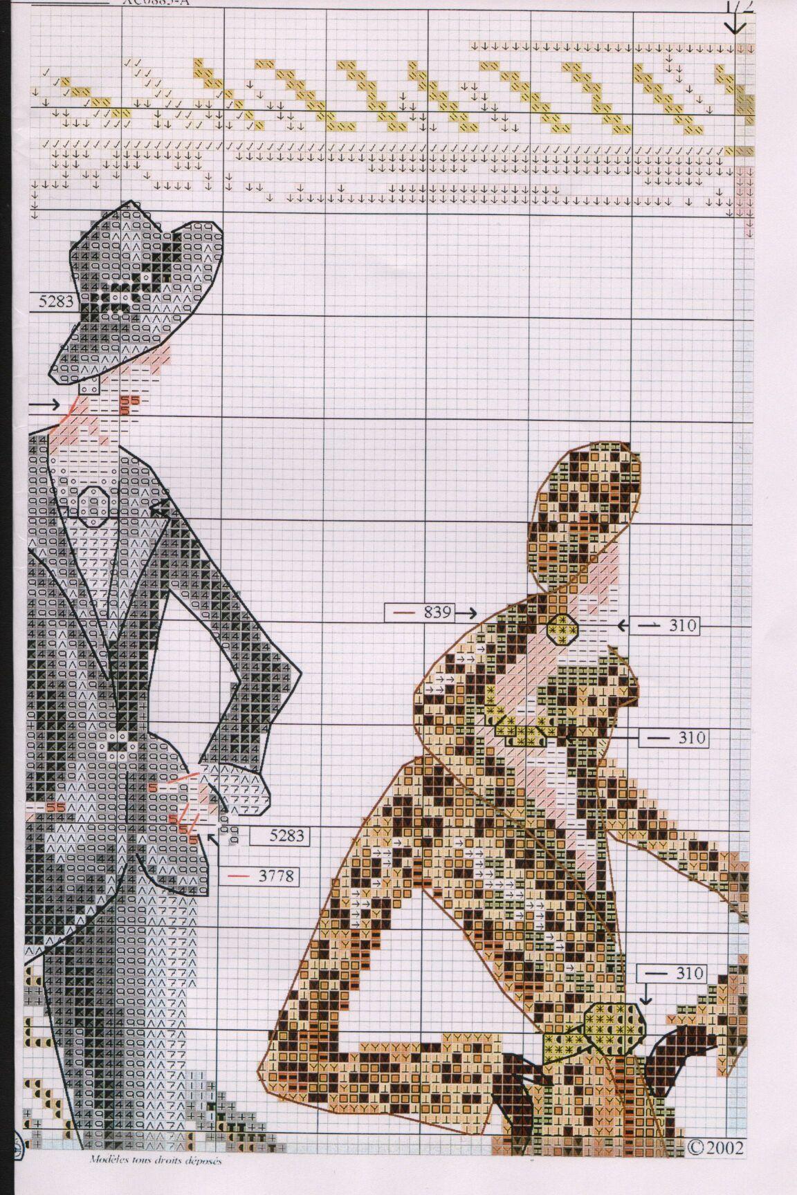 Схема вышивки крестом модная вышивка