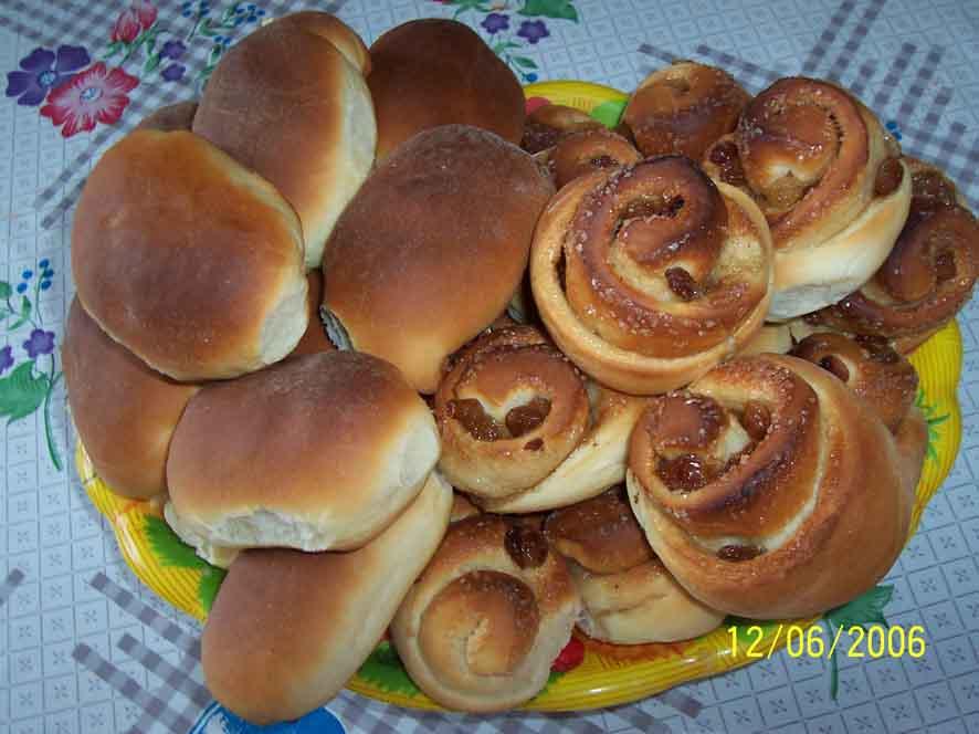 Фото пирожков и булочек пошаговое