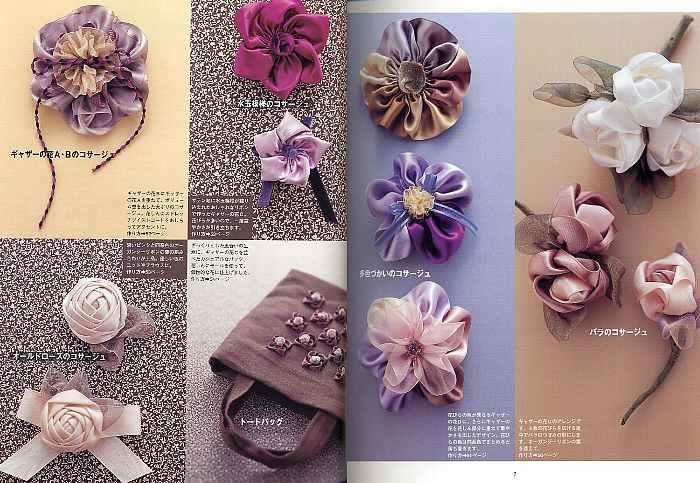 Украшение цветок для одежды