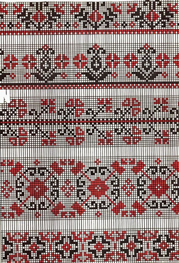 Схемы вышивок узоров украинских