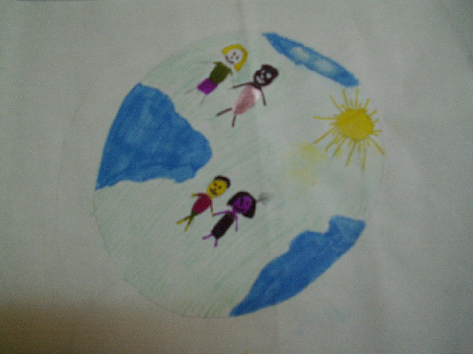 Конкурс рисунков на тему мы за мир