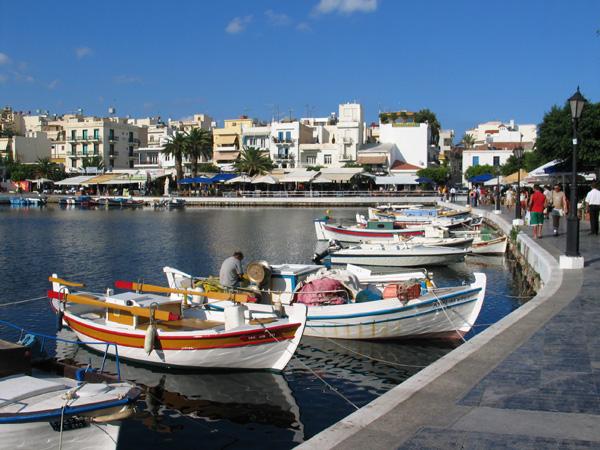 город Святого Николая. Крит