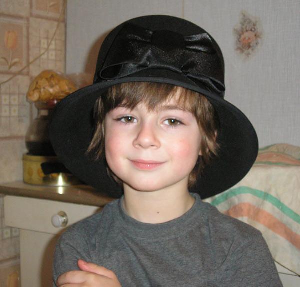 Бабушкина шляпа схема вышивки