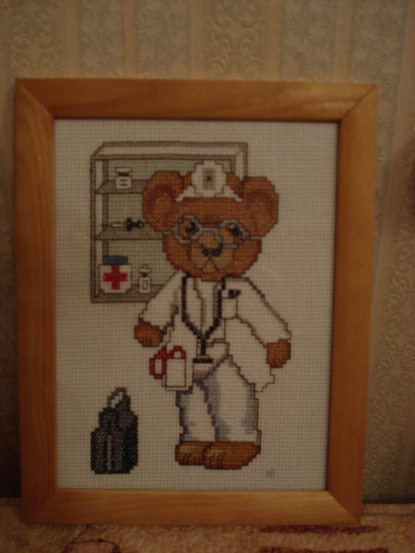 Вышивка крестом для врачей