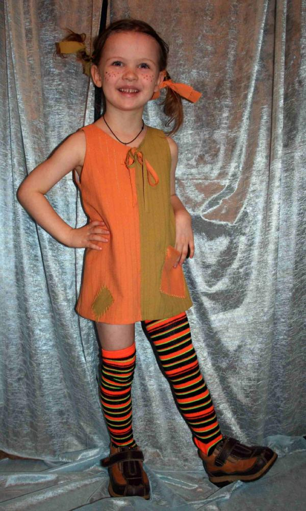 Пеппи длинный чулок костюм своими руками фото