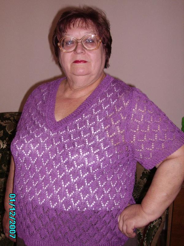 Вязание спицами из хлопка для полных женщин
