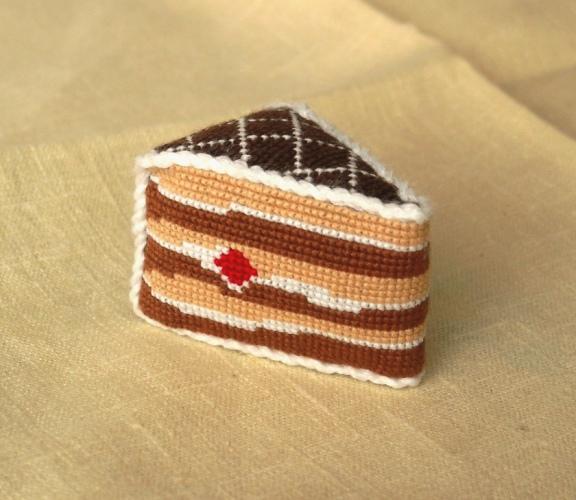 Игольница тортик схема