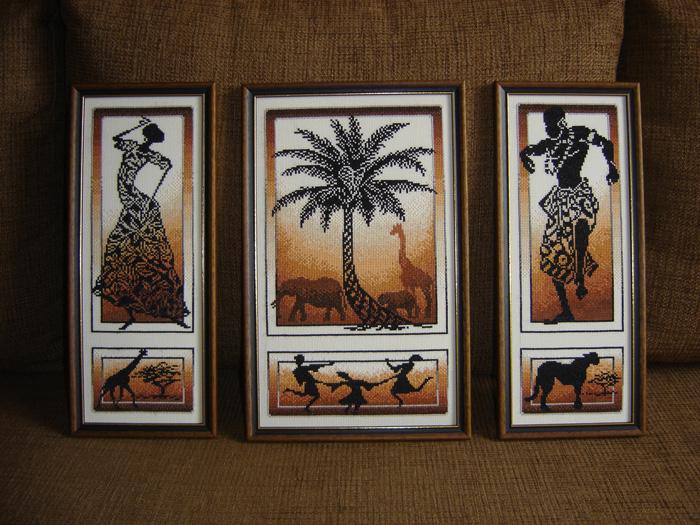 Вышивка крестом африканские истории золотое руно 87