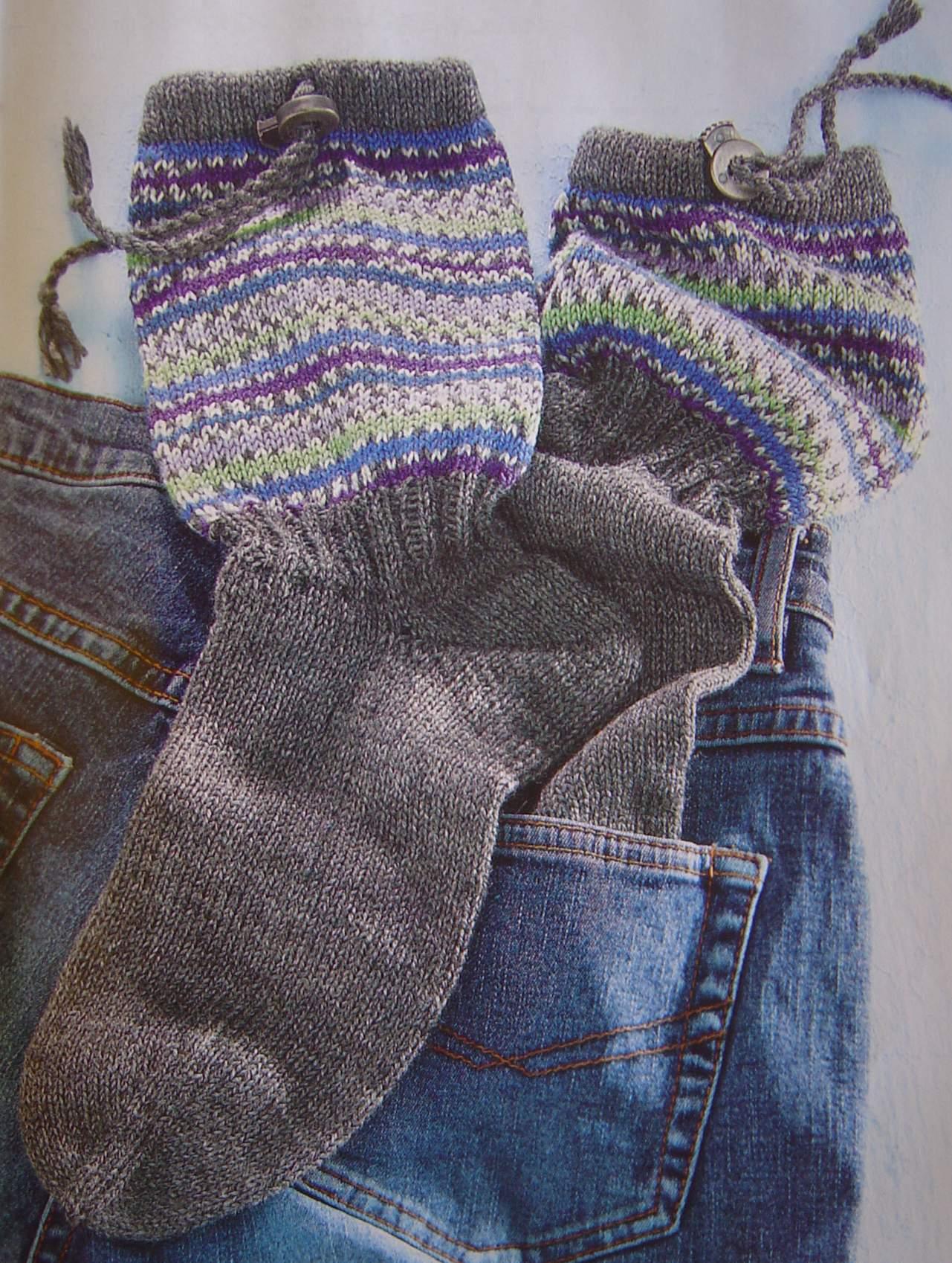 Вязание спицах носки мужчин