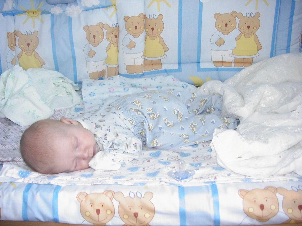 Ребёнок горячий спит 7мес