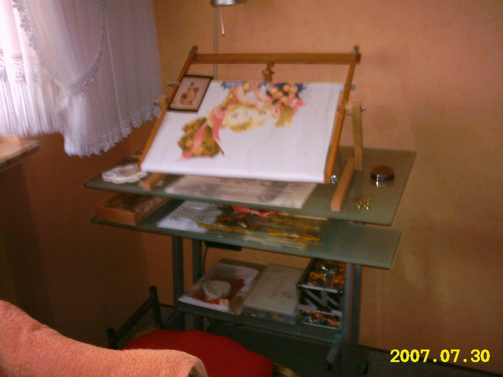 Вышивания бисером рабочее место