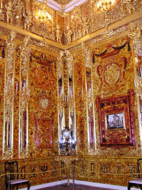 Экскурсия в екатерининский дворец и янтарную комнату
