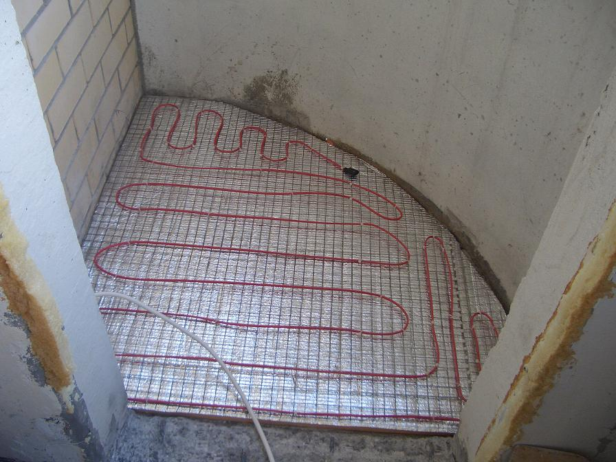 Утеплитель для балкона под теплый пол..