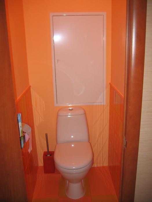 Новый туалет. ремонт. фотоальбом участника nanik.