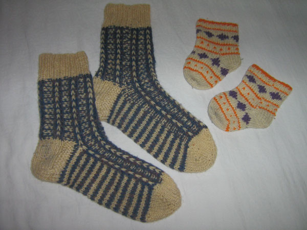 Вязание носочек мальчику