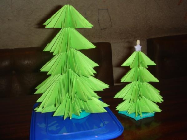 Как сделать елку из стикеров фото - Simvol-goroda.ru