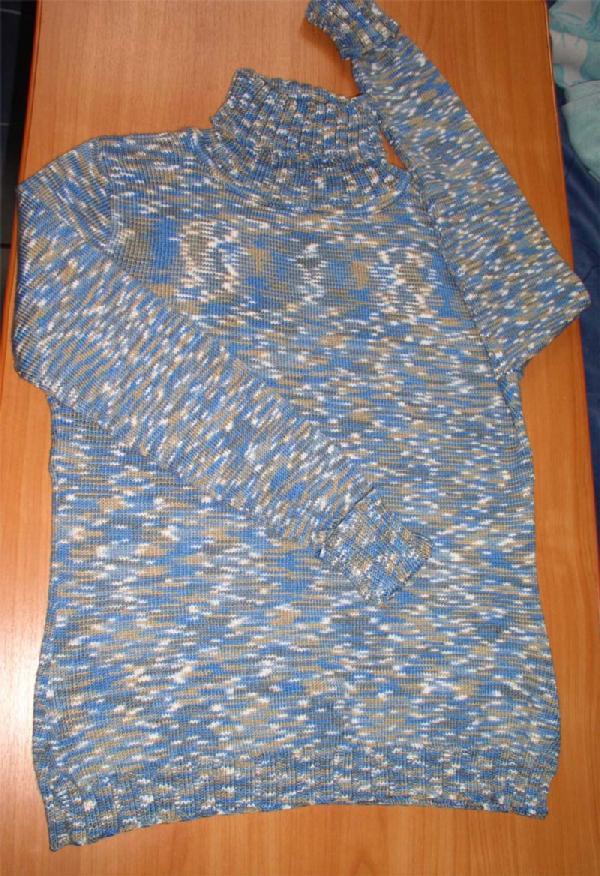 Вязание кофт из микрофибры